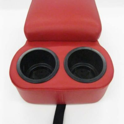 1955 1956 1957 Bench Seat Console-Cup Holder, Red