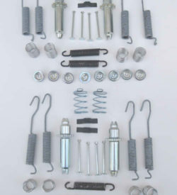 1955 1956 1957 Brake Hardware Kit, Front & Rear